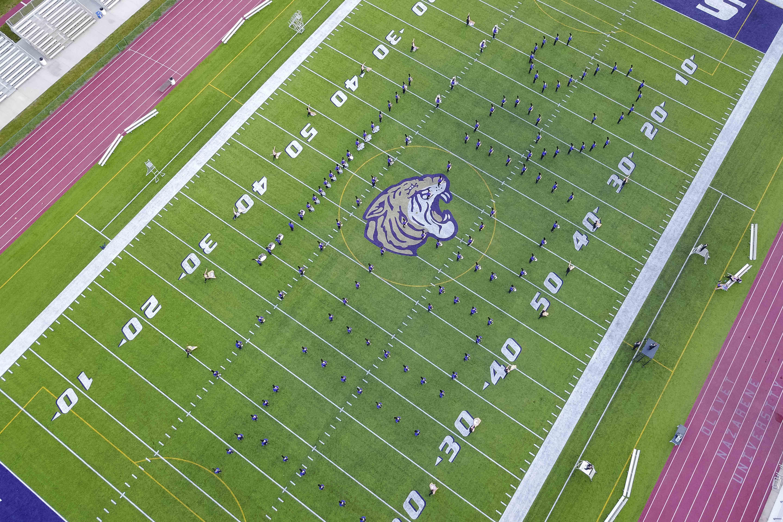 The ONU Tiger Marching Band | Olivet Nazarene University
