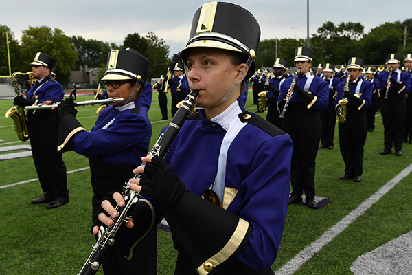 Olivet's Marching Band invited to appear in 2020 Rome New