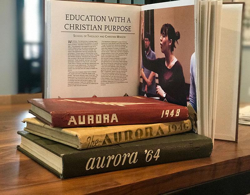 Aurora yearbook